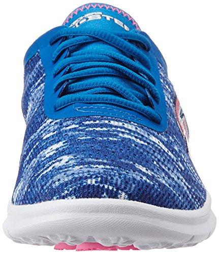 Skechers Blu Sneaker blue Go pink Step Donna ZqAr6CxZw