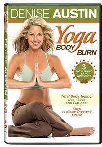 Amazon Com Denise Austin Yoga Body Burn Denise Austin Cal Pozo Movies Tv