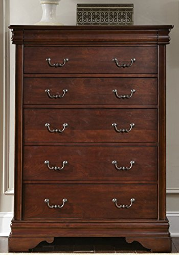 Bedroom Hutch Pine (Liberty Furniture 709-BR40 Carriage Court 5-Drawer Chest, 40