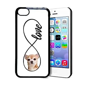 Pink Ladoo? iPhone 5 5s Case Phone Cover Chihuahua Lovehihuahua Infinity Love