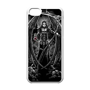 linJUN FENGProtection Cover Hard Case Of Grim Reaper Cell phone Case For iphone 6 4.7 inch