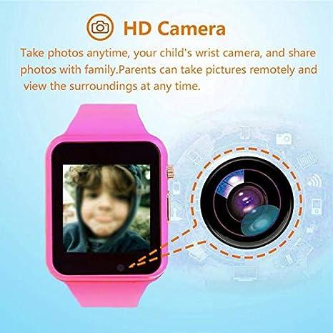 Amazon.com: SODIAL U10 Anti-Lost Smartwatch Children Kids ...