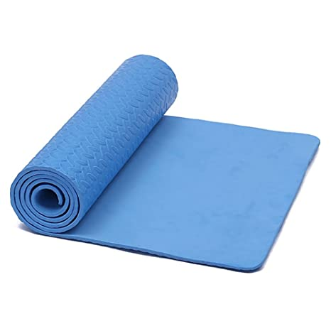 Amazon.com : Anjukeview Non Slip Yoga Mat Thick High Density ...