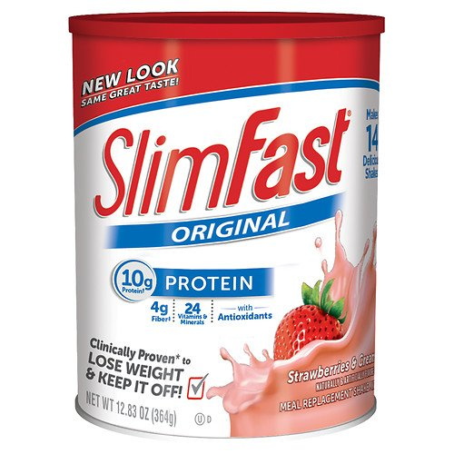 Slim-Fast Protein Shake Mix, Strawberries n' Cream 12.83 oz
