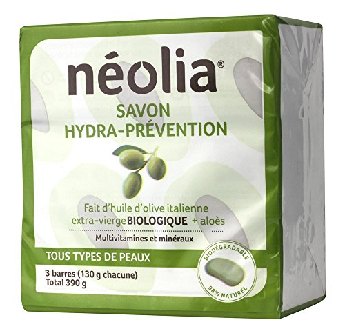 - Neolia Hydra-prevention Olive oil soap (3 x 130g)