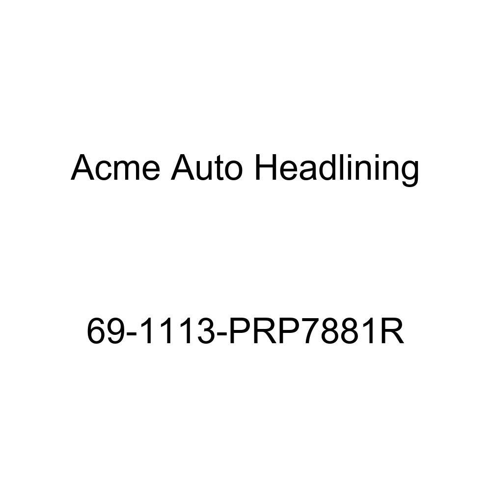 Buick Riviera 2 Door Hardtop 5 Bow Acme Auto Headlining 69-1113-PRP7881R Carmine Replacement Headliner