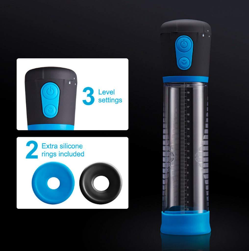 AllINONE llll233 8'' Electric Man Bigger Vacuum Enlarger Pump ED Enhancement Sleeves