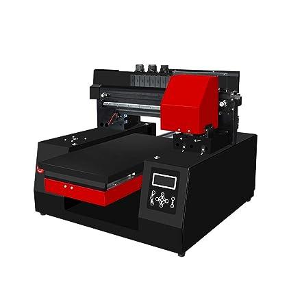 Impresora de cama plana LED de 6 colores UV Máquina de ...
