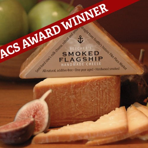 Beecher's, Smoked Flagship Cheese, 7 oz. (4 pack)