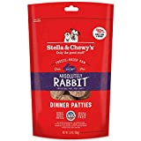 Stella & Chewy's Freeze-Dried Raw Absolutely Rabbit Dinner Patties Grain-Free Dog Food, 5.5 oz bag