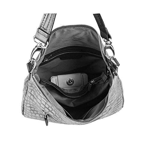OBC Only-Beautiful-Couture - Bolso al hombro para mujer negro Schwarz 43x35x15 cm ca.: 43x35x15 cm (BxHxT) Schwarz 43x35x15 cm