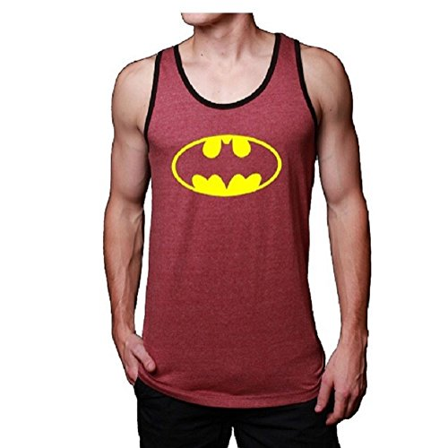 Batman+tank+top Products : Mens Jerseys Batman Adult Tank Top Red