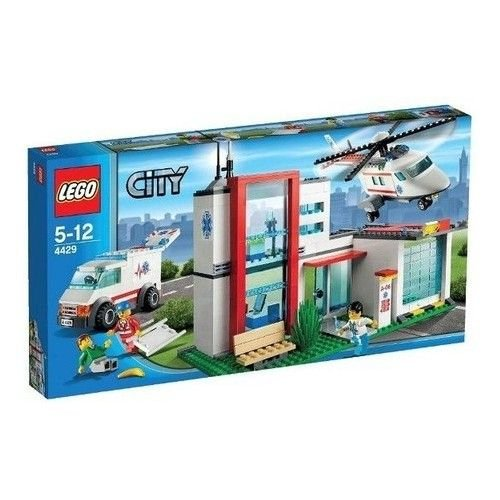 Lego City 4429 helicopter rescue product image