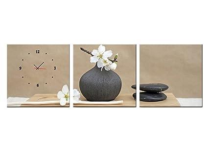 Orologi Da Parete In Tela : Orologio da parete beautiful fashion orologio da parete senza