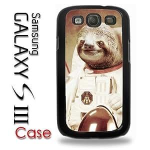 Samsung Galaxy S3 Plastic Case - Dolla Dolla Bill Sloth Astronaut on the moon