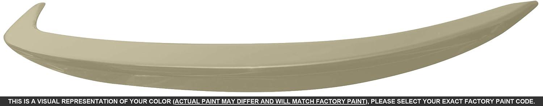 Dawn Enterprises COR14-FM Factory Style Flush Mount Spoiler Compatible with Toyota Corolla 4V8 Avante Garde Bronze Metallic