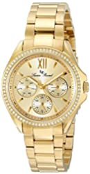 Lucien Piccard Women's LP-10052-YG-10 Eclipse Analog Display Japanese Quartz Gold Watch