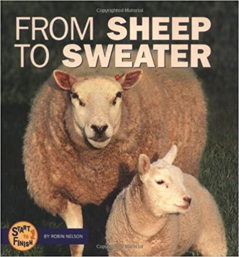 From Sheep to Sweater (Start to Finish (Lerner)) (Start to Finish Series)
