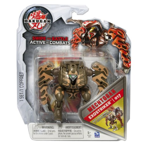 Bakugan - Mechtogan Brown Exostriker