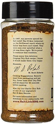The Salt Lick BBQ Original Dry Rub 12 Oz (Pack of 3) by Salt Lick (Image #4)