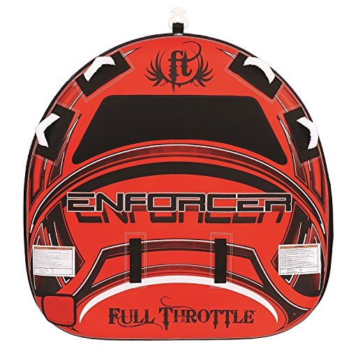 Full Throttle Enforcer Fully D-Shaped Tube, Red, 60-Inch ()