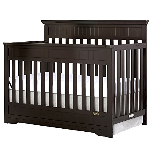 - Dream On Me Chesapeake 5-in-1 Convertible Crib, Mocha
