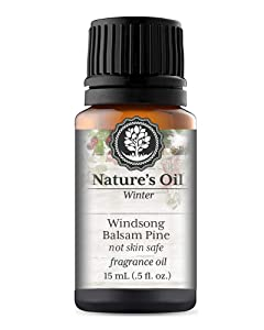 Windsong Balsam PIne Fragrance Oil (15ml) For Diffusers, Candles, Home Scents, Linen Spray, Slime