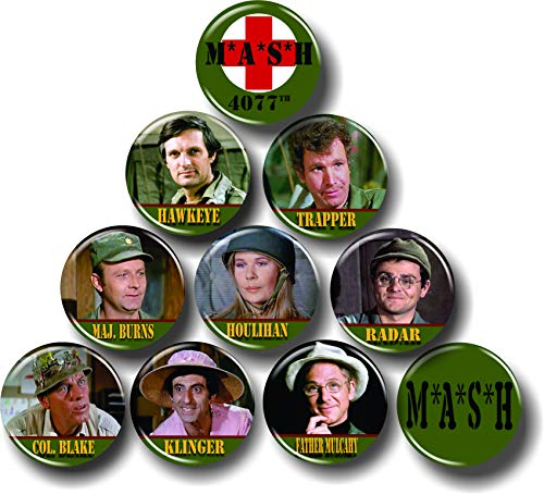 MASH TV Show Series Buttons 1.25