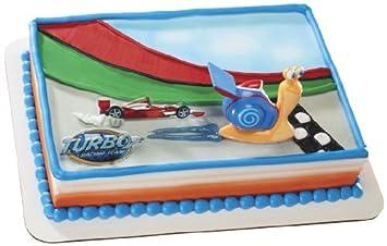 Turbo Speedy caracol DecoSet decoración de pasteles por Decopac: Amazon.es: Juguetes y juegos