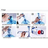 Portable Electric Water Pump Dispenser for 5 Gallon Bottled Drinking Water RI