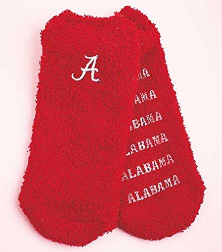 Super-Soft Collegiate Slipper Socks (Alabama)