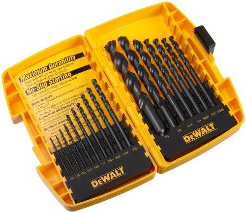 DEWALT DW1167 17-Piece Black-Oxide Split-Point Twist Drill B