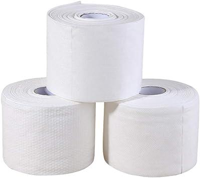 Lurrose 240 piezas desechables toalla facial algodón facial algodón ...