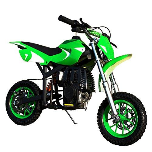starmax 40cc Gas Powered Kids Mini Dirt Bike (Green) ()
