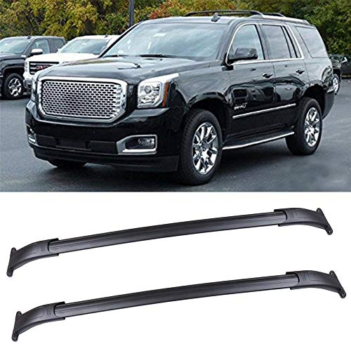 (OCPTY Roof Rack Cross Bar Cargo Carrier Fit for 2015-2018 Cadillac Escalade/Cadillac Escalade ESV/Chevrolet Suburban/Chevrolet Tahoe/GMC Yukon/GMC Yukon X Roof Rack Crossbars)