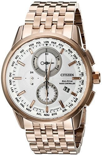 Citizen Eco-Drive Men's AT8113-55A World Chronograph A-T Watch (Eco Citizen 55a Drive)
