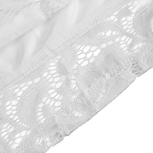 2Colors Bodycon 4Sizes Dress Off Hollowed Knee Dress Long Shoulder Off White Shoulder Length Sleeve Lace qwax8EwOt