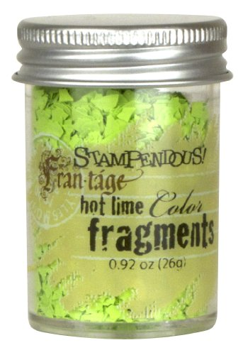 Stampendous Frantage Color Fragments for Arts and Crafts, Hot Lime