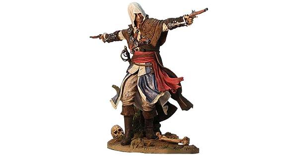 Amazon.com: Ubisoft Assassins Creed IV 4 - Estatua de PVC ...
