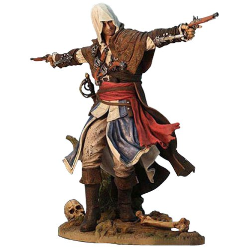 Ubisoft Assassin's Creed IV 4 Black Flag Edward Kenway Assassin Pirate PVC Statue -