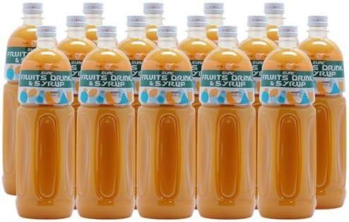 【業務用】 オレンジ50 濃縮ジュース (果汁濃縮オレンジジュース) 希釈タイプ 1L ペットボトル×15本