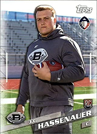 separation shoes 7047a 372a2 Amazon.com: 2019 Topps Alliance of American Football #120 ...