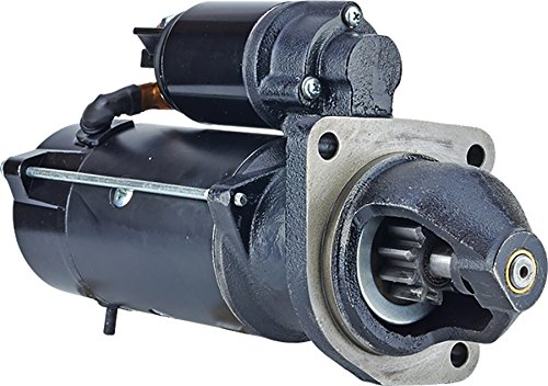 New DB Electrical ROTA0366 Starter 10 Tooth Count 12V Farmall 105A, 115A, 95A 3691576M91, 47715263, 4897223, 82032859, DRS0365, 47715263, 84151331, 87318735, 87583926