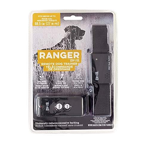 Amazon Com Zeus Ranger 96103 Remote Dog Trainer Black