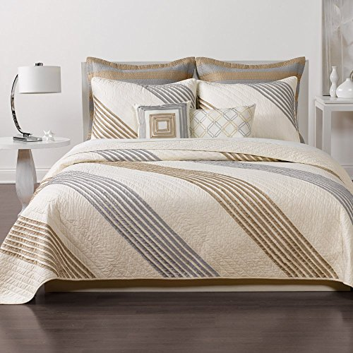 New Stanton Stripe Quilt by Nostalgia Home