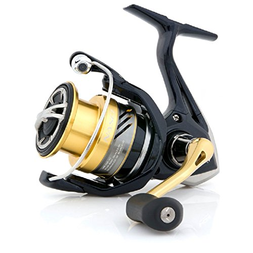 Shimano Nasci 1000 FB model 2017 spinning fishing reel with front drag, NAS1000FB