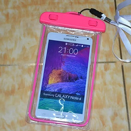 Yaobai- Noctilucent Waterproof Bag/Case for iPhone, iPod, Kindle,Samsung G360 G530 G357 A7 A5 A3 Note 4 ,HTC One M9,Nokia N630 N530 N930,LG G2 G3,Sony Z2 Z3 Z4 M2 and Touch Screen phone Under 6 inch (