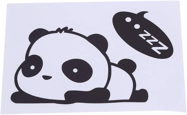Lgjjj Interrupteur Autocollant Salut Panda Mignon Dessin