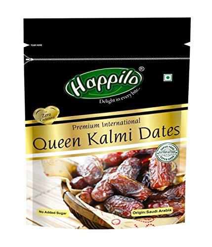 Happilo Premium International Queen Kalmi Dates, 200g (Pack of 2)