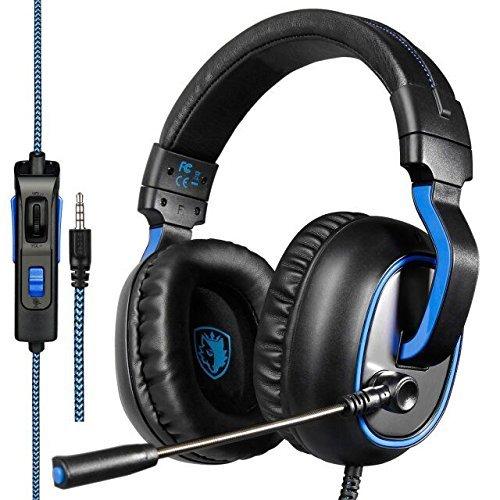 150 opinioni per Cuffie Gaming, Sades R4 Cuffia PS4 Xbox One con Microfono Noise Cancelling